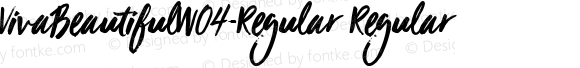 VivaBeautifulW04-Regular