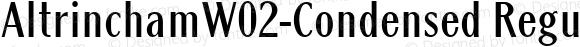 AltrinchamW02-Condensed Regular Version 1.1