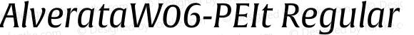 AlverataW06-PEIt Regular Version 1.1