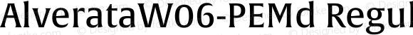 AlverataW06-PEMd Regular Version 1.1