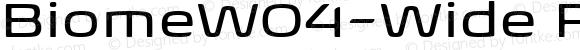 BiomeW04-Wide Regular Version 1.00