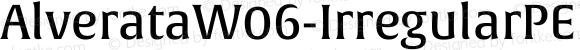 AlverataW06-IrregularPEMd Regular Version 1.1