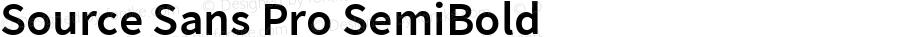 Source Sans Pro SemiBold