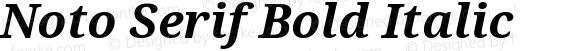 Noto Serif Bold Italic Version 2.000;GOOG;noto-source:20170915:90ef993387c0