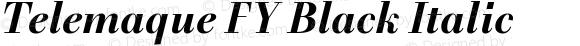 Telemaque FY Black Italic
