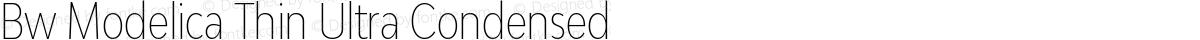 Bw Modelica Thin Ultra Condensed