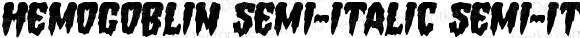 Hemogoblin Semi-Italic Semi-Italic