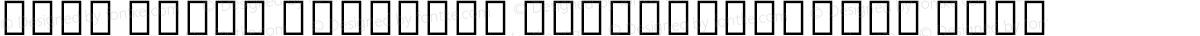 Noto Serif Ethiopic ExtraCondensed Thin