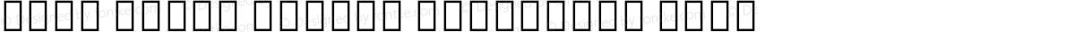 Noto Serif Hebrew Condensed Thin