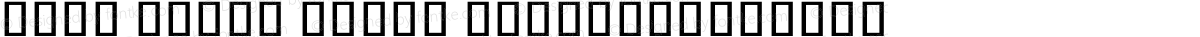 Noto Serif Khmer ExtraCondensed
