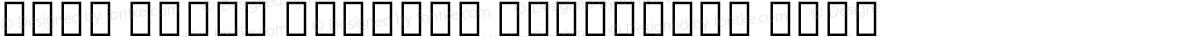 Noto Serif Myanmar Condensed Thin
