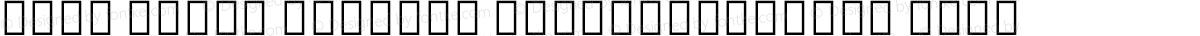 Noto Serif Myanmar ExtraCondensed Bold