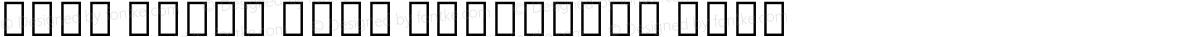 Noto Serif Thai Condensed Thin