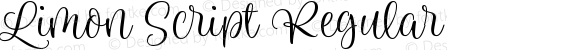 Limon Script Regular