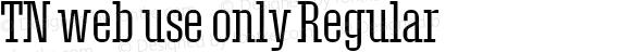 TN web use only Regular