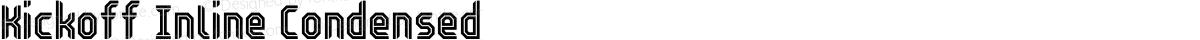 Kickoff Inline Condensed