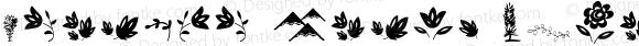 Harumba Brush Extras Version 1.002;Fontself Maker 2.1.2