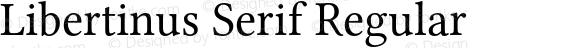 Libertinus Serif Regular