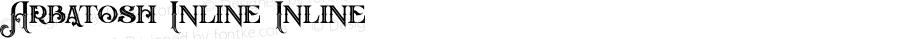 Arbatosh Inline Inline Version 1.000