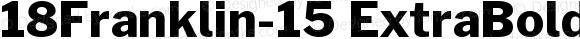 18Franklin-15 ExtraBold