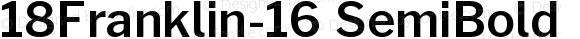 18Franklin-16 SemiBold