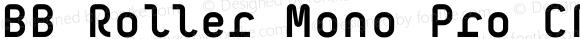 BB Roller Mono Pro CR Semi Bold