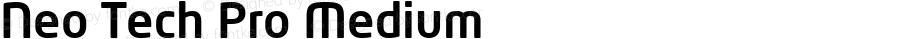 Neo Tech Pro Medium Version 1.059 2012