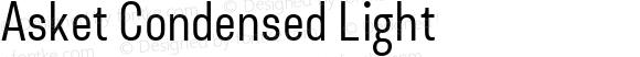 Asket Condensed Light 001.000