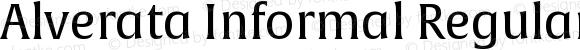 Alverata Informal Regular Version 1.000