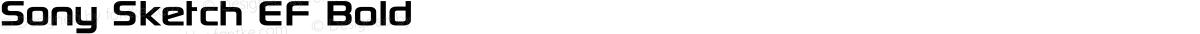 Sony Sketch EF Bold