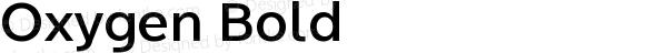 Oxygen-Bold