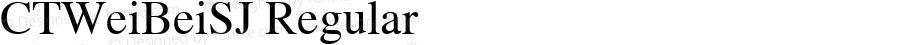 CTWeiBeiSJ Regular Version 1.00 October 23, 2016, initial release