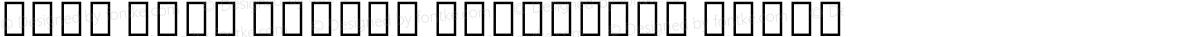 Noto Sans Hebrew Condensed Black