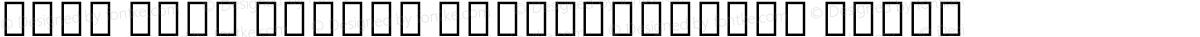 Noto Sans Hebrew SemiCondensed Black