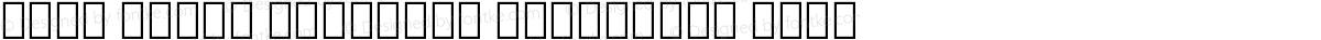 Noto Serif Georgian Condensed Thin