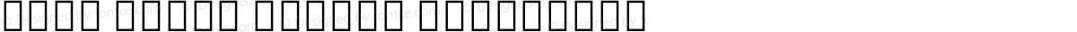 Noto Serif Hebrew Condensed