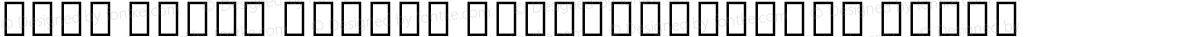 Noto Serif Hebrew ExtraCondensed Black