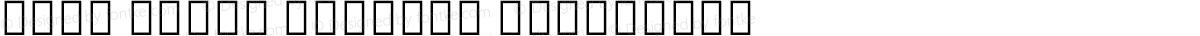 Noto Serif Myanmar Condensed