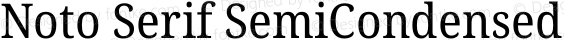 Noto Serif SemiCondensed