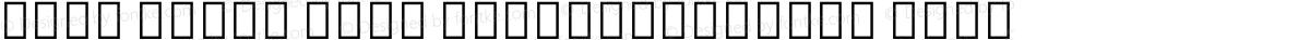Noto Serif Thai ExtraCondensed Thin