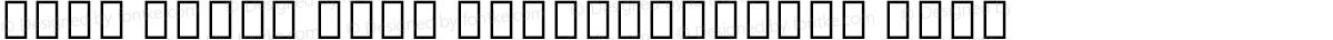 Noto Serif Thai SemiCondensed Thin