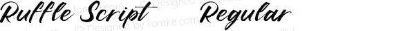 Ruffle Script DEMO