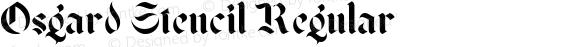 Osgard Stencil