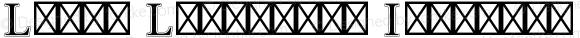 Linux Libertine Initials T