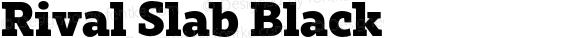 Rival Slab Black