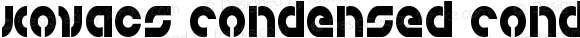 Kovacs Condensed Condensed