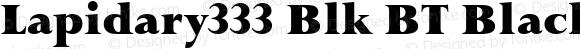 Lapidary333 Blk BT Black