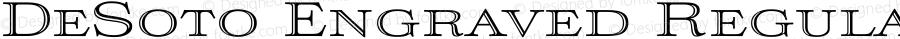 DeSoto Engraved Regular Version 1.00