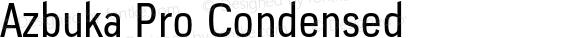 Azbuka Pro Condensed