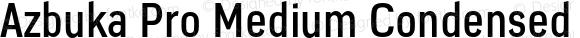 Azbuka Pro Medium Condensed